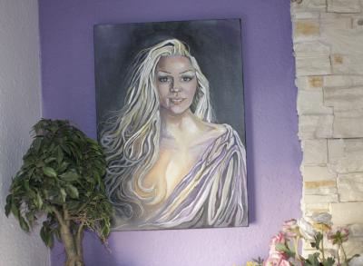 Retrato de Lola por Manuela Trasobares