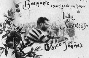VICENTE BLASCO IBÁÑEZ.  POLÍTICO REPUBLICANO