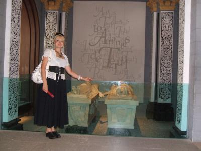 Manuela Trasobares con Los Amantes de Teruel