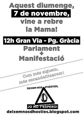 Manuela Trasobares pronunciará un discurso contra Benedito XVI
